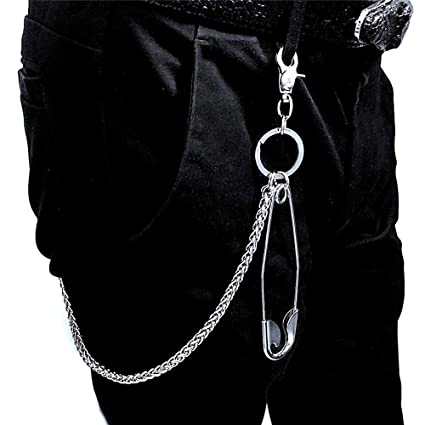 Cadena de pantalones de los hombres Hombres Cinturón de ...