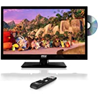 "Pyle 23.6"" 1080p LED TV, Multimedia Disc Player, Ultra HD TV, LED Hi Res Widescreen Monitor w/HDMI Cable RCA Input, LED…"