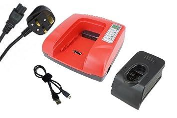 GCM 24 V GDR 14.4 V GBM 9.6VES-2 GBM 7.2 VES-2 GBM 9.6VES-3 GBM 7.2 GBM 9.6 VSP-2 PowerSmart/® 7.2-36V Ladeger/ät f/ür Bosch GBH 24VSR GBM 7.2 VE-1 GDR 90 GBM 12VES-2 GBM 9.6VSP-3 GDR 12VN Grau GDR 9.6 V GDR 18 V GBM 9.6VES-1