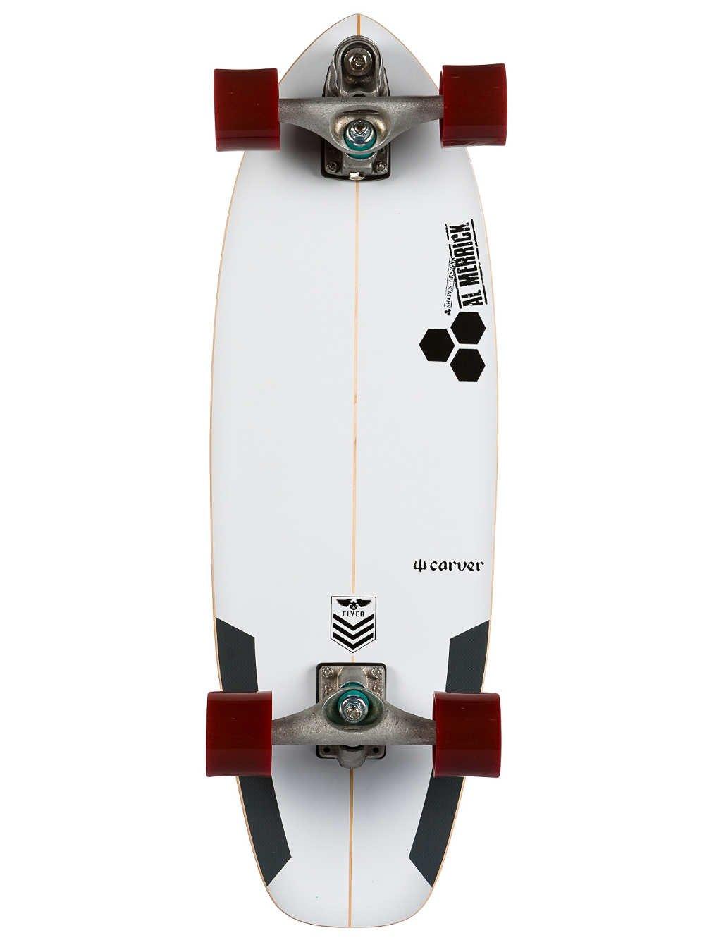Tabla de skate Carver Skateboards Cruiser Complete CI Flyer C7 30,75 pulgadas, Uni, talla única: Amazon.es: Deportes y aire libre