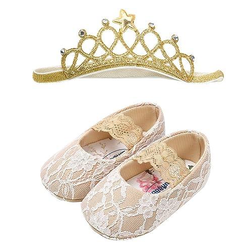 Baby Tessal Falt Sandals Toddlers Prewalker Crib Pram Anti-Slip Soft Crawl Shoes