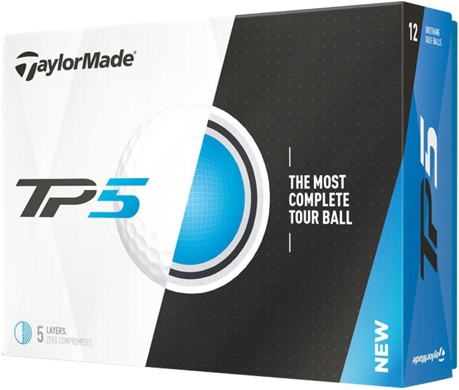 TaylorMade TP5 Prior Generation Golf Balls (One Dozen)