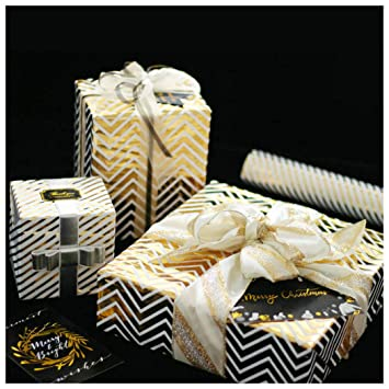 cdc7865d482e Image Unavailable. Image not available for. Color: Gift Wrapping Paper Roll  for Birthyday Holiday Wedding Baby Shower Gift Wrap ...
