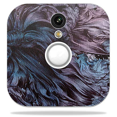 Cheap MightySkins Skin for Blink Home Security Camera – Angry Ripple | Protective, Durable, and Unique Vinyl Decal wrap Cover | Easy to Apply, Remove, and Change Styles | Made in The USA