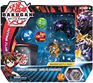 Bakugan, Battle Pack 5-Pack, Darkus Hydorous and Aurelus Gargarnoid