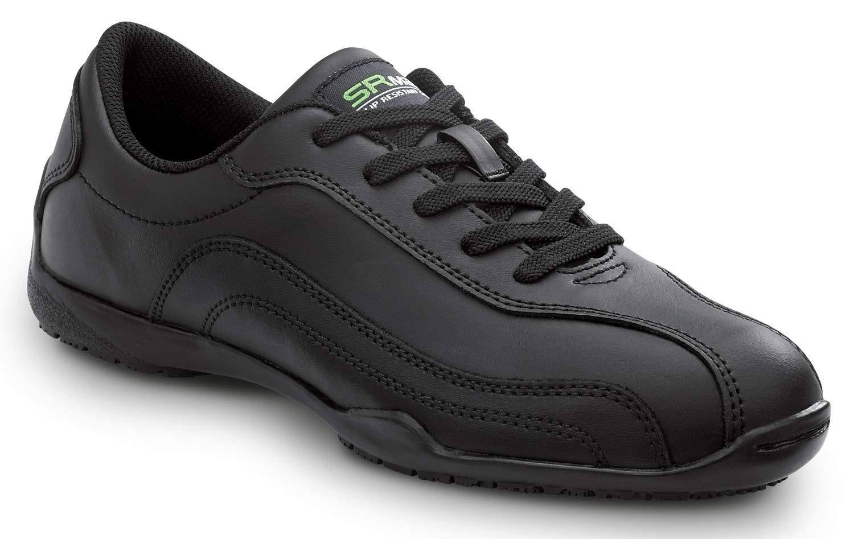 SR MAX Celia Women's Black Soft Toe Slip Resistant Athletic (6.5 M) by SR MAX