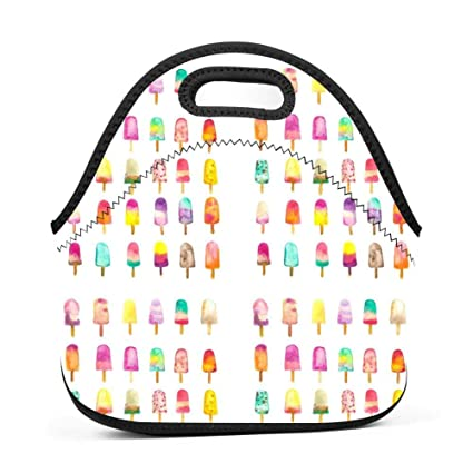 5fd818f5a440 Amazon.com: ManyiWHP1. Custom Popsicles Ice cream Reusable Lunch Box ...