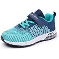36b0cb07a1ae JARLIF Kids Sneakers Ultra Breathable Tennis Air Trail Athletic Running Shoes  for Girls Boys
