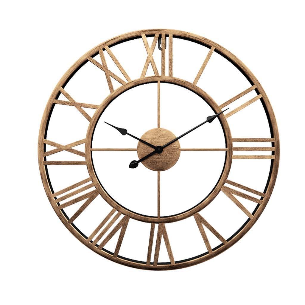 壁掛け時計、リビングルームのオフィスの寝室用壁掛け装飾的な壁掛け時計   B07QXRZK82