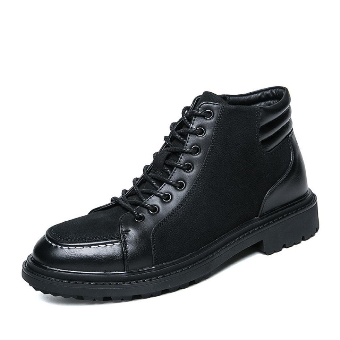 Herren Mode Freizeit Freizeit Freizeit Martin Stiefel Schutzfuß Lässige Schuhe Rutschfest Flache Schuhe Licht Warm halten Lederschuhe EUR GRÖSSE 38-44 cd8f65
