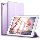 iPad Mini ケース クリア ESR iPad Mini2 ケース レザー PU iPad Mini3 ケース 軽量 スタンド機能 傷つけ防止 オートスリープ ハード三つ折 iPad Mini3/2/1(初代第二三世代)専用スマートカバー(フレグラント ラベンダー)