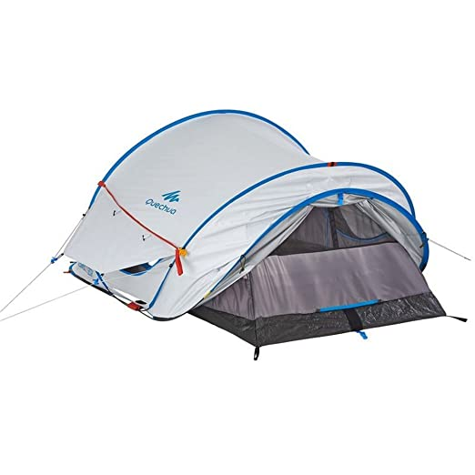 Decathlon Quechua tienda de campaña para familia de persona 2 SECONDS EASY 2 FRESH TENT 2 PEOPLE WHITE: Amazon.es: Deportes y aire libre