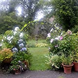 Moon Gate 7 ft. Steel Arch Arbor offers