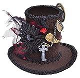 Search : Mini Black Ladies Steampunk Tall Top Hat