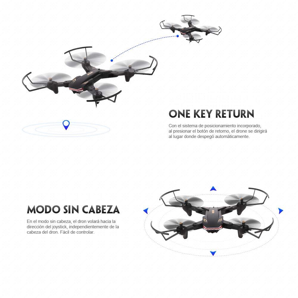 Oferta dron TIANQU VISUO XS809S por 57 euros desde España (Cupón Descuento) 2 TIANQU XS809W