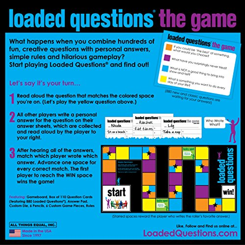 26ab7ef1361 Loaded Questions - The Family Friends Version of the Classic - Import It All