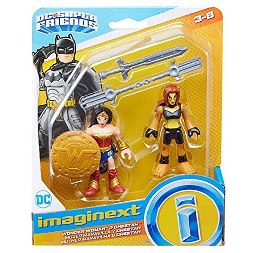 Fisher-Price Imaginext DC Super Friends, Wonder Woman & Cheetah