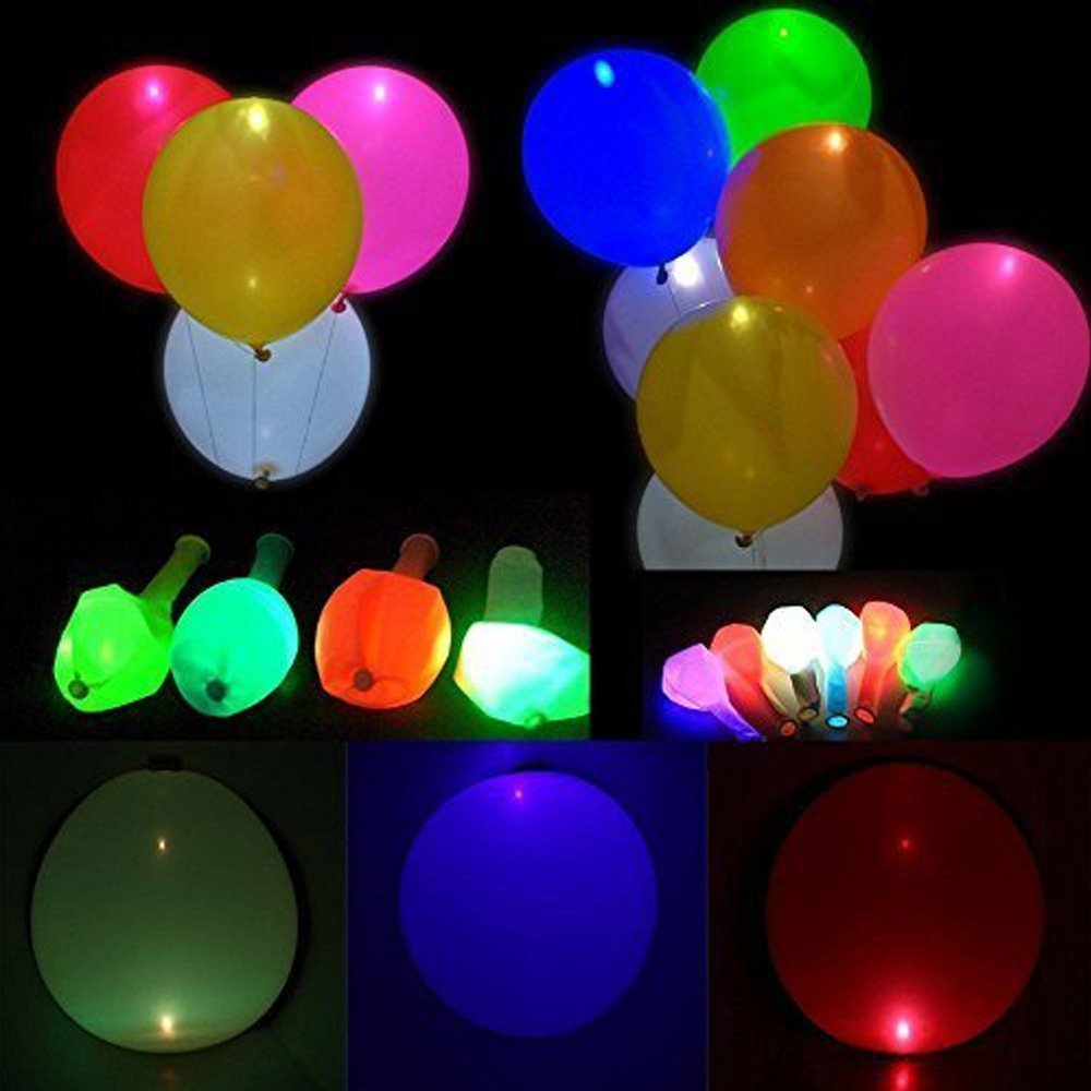 Globos de LED Iluminación Noche Iluminación Brillante Ideal para Fiesta,...