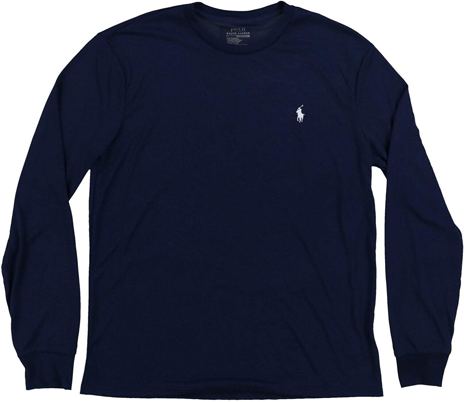 Polo Ralph Lauren Mens Long Sleeve Performance T-Shirt