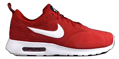 3b09a3ab45 Nike Men's's Air Max Tavas LTR Running Shoes, Red/White, 6 UK ...