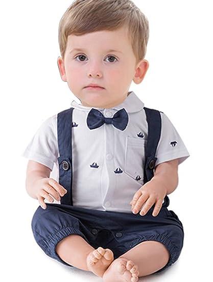 166fc6f4ef08 ARAUS Tuxedo Gentlemen Suit for Baby Boy Christening Suit Infant ...