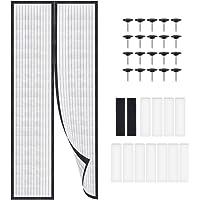 LYTIVAGEN 90 x 210 cm, magnetisch vliegengaas, horgordijn, balkondeur, muggennet voor balkon, woonkamer, schuifdeur…
