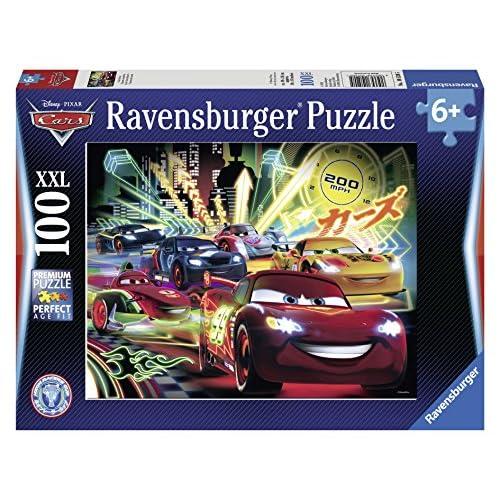 Ravensburger Cars Neon. Puzzle 100 Teile XXL