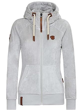 Sweater Hooded Zip Women Naketano Brazzo Mack IV Zip Hoodie