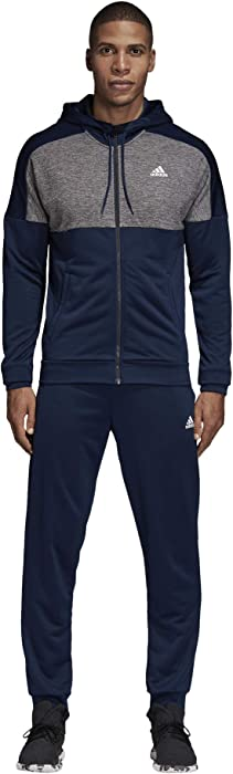 adidas Men Track Suit Running Hoodie MTS Gametime Training Gym Work Out  CZ7846 New (10 8897ae659e
