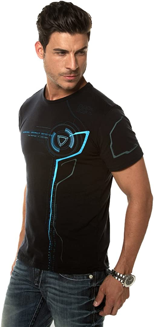 PHUTURE GT Anomalía Los Hombres De La Camiseta Gráfica