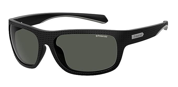 Polaroid PLD 7022/S Gafas de sol, Multicolor (Black), 63 ...