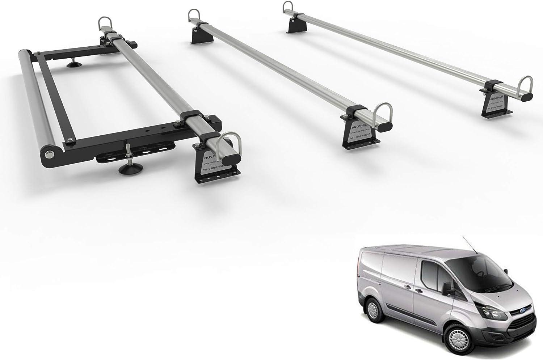Autorack WorkReady - Barras de techo para furgoneta con rodillo para Ford Transit Custom (modelos a partir de 2012): Amazon.es: Coche y moto