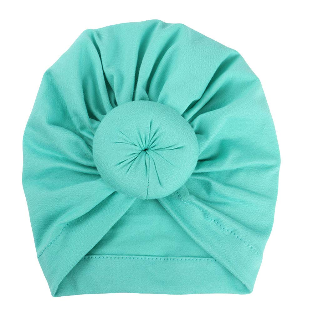 Clearance Sale! VEKDONE Baby Turban Toddler Kids Boy Girl India Hat Lovely Soft Hat (Green)