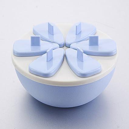 Molde del helado de la historieta/caja de paletas de hielo diy/molde para