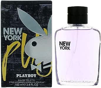 New York Playboy Eau de Toilette Spray for Him, 100ml