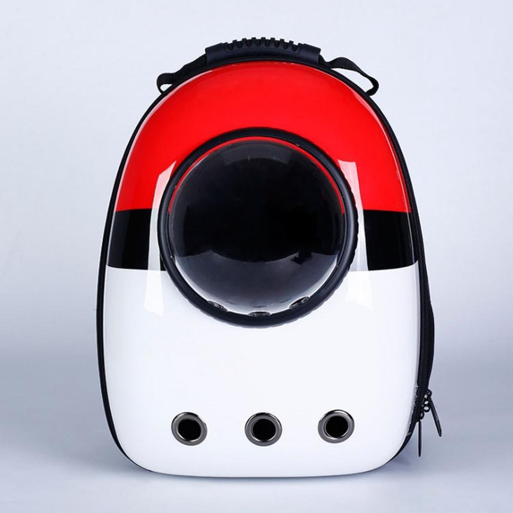 Daeou Zaino per animali domestici Capsula spaziale Pet borsa zaino di tasca 32x29x43cm