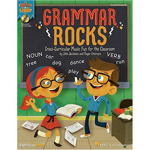 Amazon.com: Hal Leonard Grammar Rocks! Book/Listening CD: Varies ...