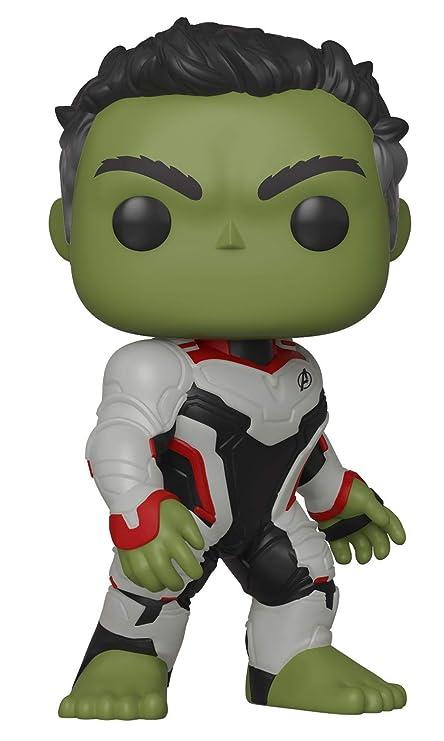 Funko- Pop Bobble: Avengers Endgame: Hulk Marvel Collectible Figure, Multicolor (36659)