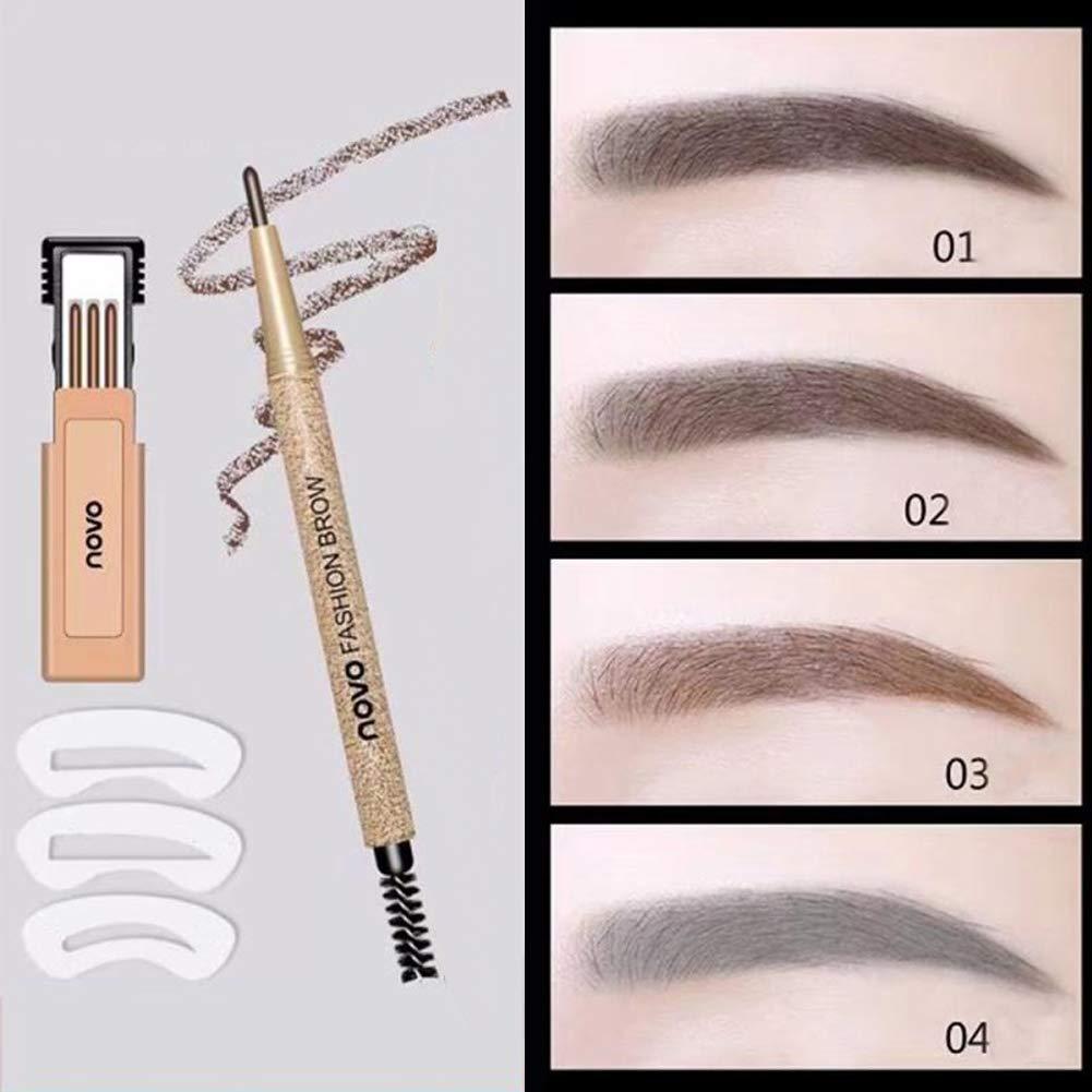 Amazon.com : 3D Waterproof Eyebrow Pencil, Waterproof ...