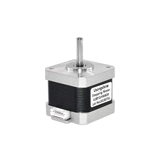Kongqiabona Motor de Impresora 3D 4-Lead Nema 17 Stepper Motor ...