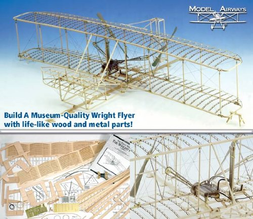 Flight Model Kit - Model Expo Wright brothers Flyer 1903 MA1020 Wood 1:16 Scale Kit Sale - Save 42% - Model Expo