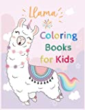 Llama Coloring Books for Kids: A Children's Activity Book for 4-8 Year Old kid - llama Time To Share For Home or Travel with Unicorn Princess Time