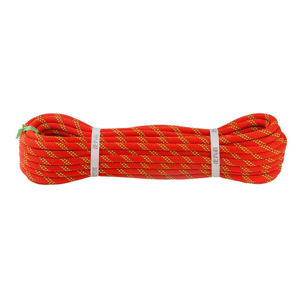 GXYGWJ Corde d'escalade Corde Corde de Nylon Corde Travail aérien diamètre de cÂble 9 10   10.5 12   14mm Cordes (Taille   14mm 10m) 9mm 20m