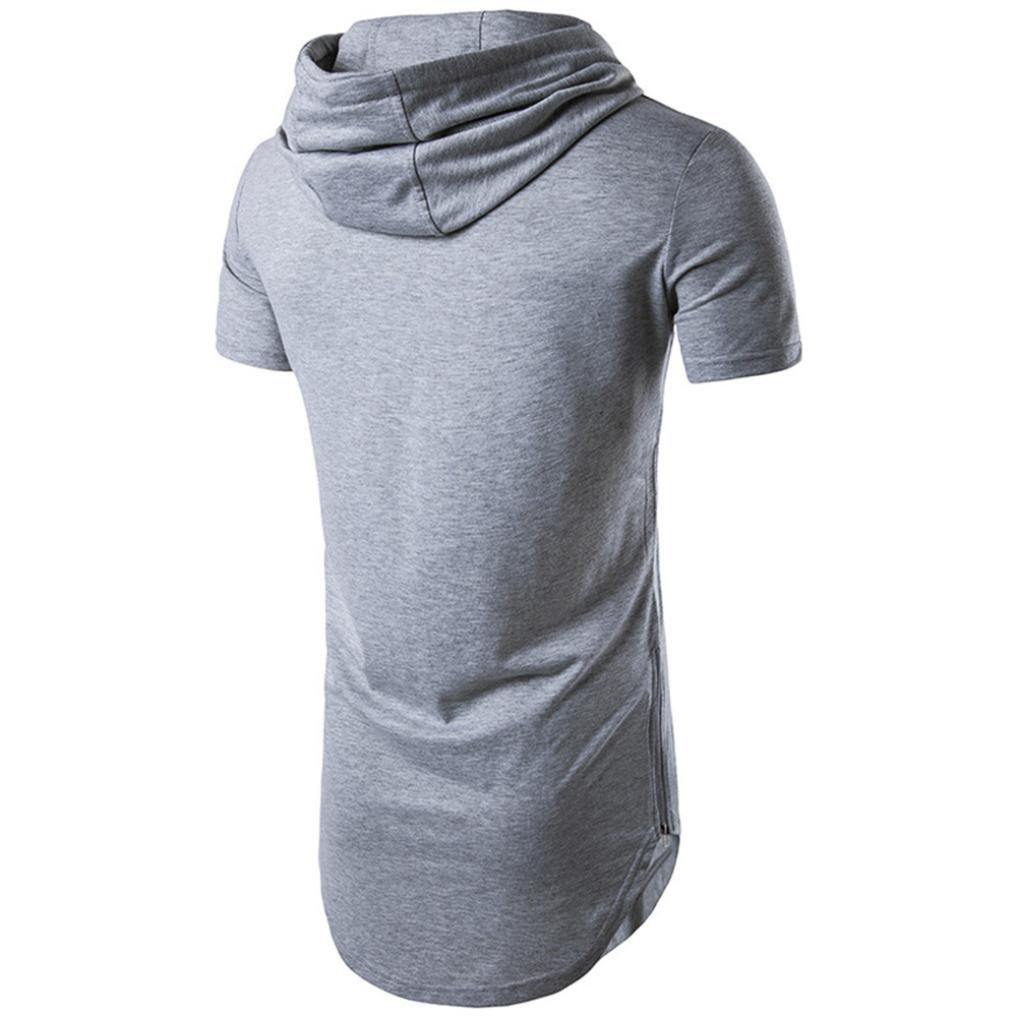 HUIHUI Coole V-Ausschnitt /Ärmellos Sweatshirt Slim Fit Basic UV Polo-Shirt Mode Sport Oberteile Oversize Bench Tops Hooded Sommer Freizeit Hemd Poloshirt T Shirt Herren