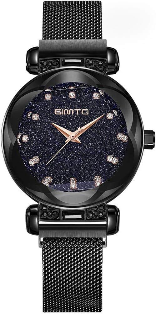 2018 GIMTO marca lujo oro mujeres relojes moda creativa