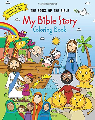 My Bible Story Coloring Book The Books Of Zondervan 9780310761068 Amazon