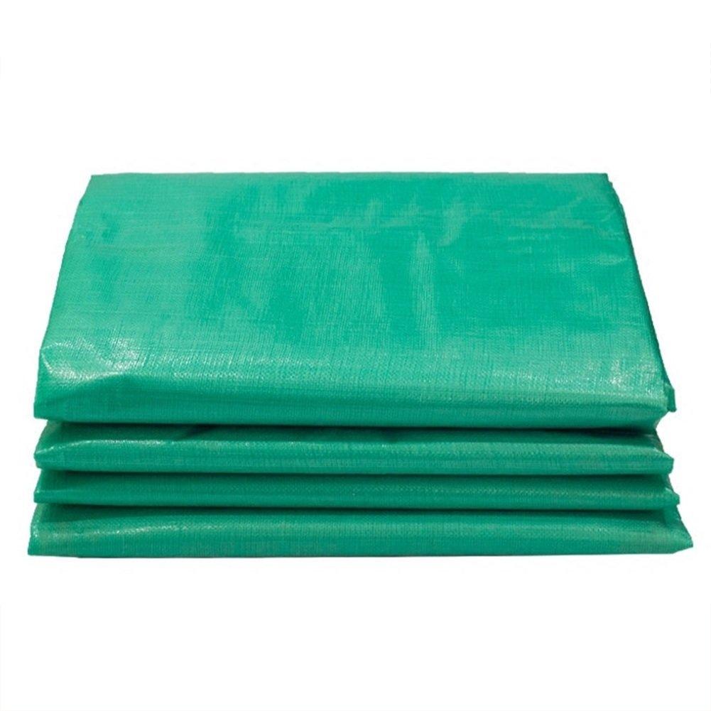 vert 4x8m GLJ Tissu Imperméable à l'eau De BÂche Imperméable Translucide Verte Imperméable De Tissu Jetable en Plein Air De Prougeection Solaire De Tissu bÂche (Couleur   vert, Taille   4x6m)