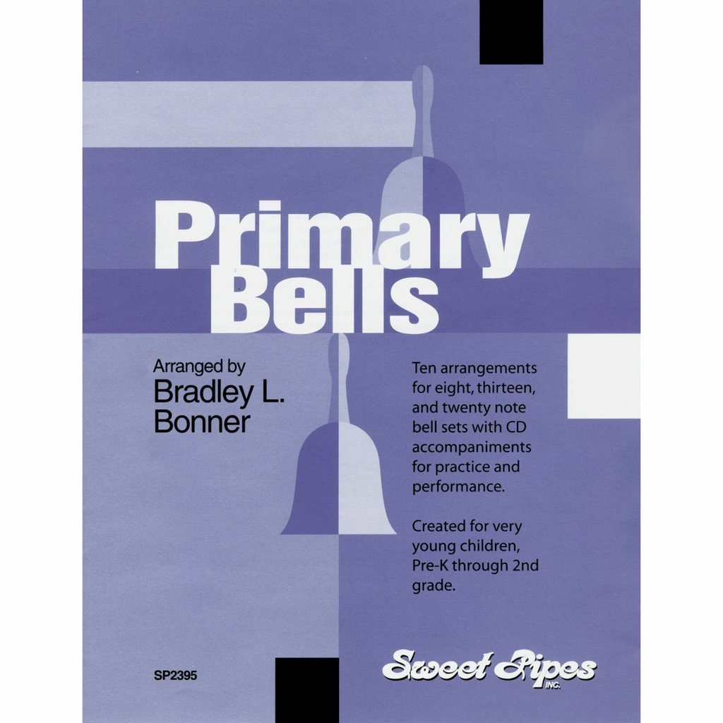 Bonner Primary Bells Song Book with CD (10 Songs; All Ages) by Westco