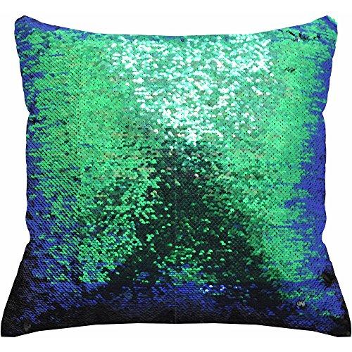 "Price comparison product image Mainstays 17"" x 17"" Reversible Sequin Decorative Pillow"