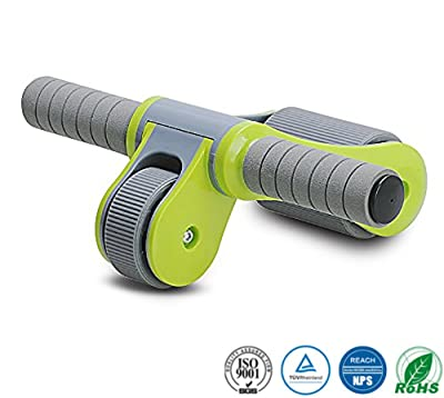 JoP Portable Abdominal Roller Simple Assembly Foldable Abs Roller